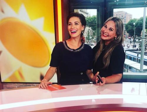 Vivienne presenteert RTL Boulevard en wij zijn er bij…