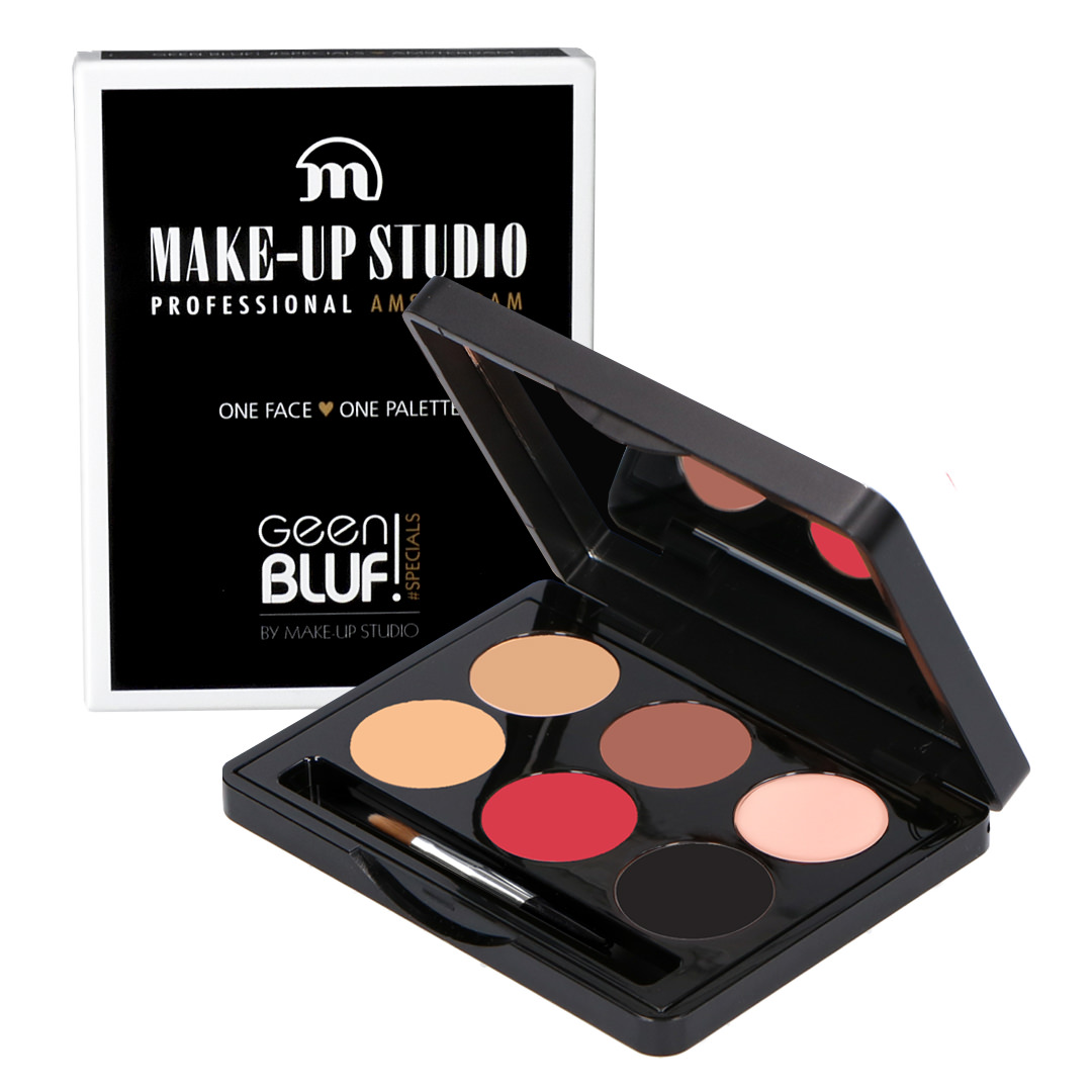 One Face One Palette - Geen Bluf - Make-up Studio - Make-up Palette